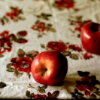 mezzanine: (apple on the tablecloth)