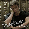 kakairupowns: [Stargate: SG-1] Daniel - Translate THAT (DTranslateThat)