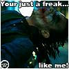 dark_nights_syn: (Freak like me)