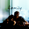"apollymi: Hicks holding Ripley as Ripley holds Newt, text reads ""Family"" (Aliens**Hicks/Ripley+Newt: Family)"
