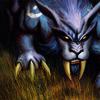 lookslikeageek: Night Elf Druid from the Warcraft TCG (Druid, KITTY!, catform)