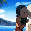 mona: rita from michiko to hatchin marks her territory. (rita/hatchin)