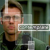 jdpfic_mod: Daniel Jackson. Caption 'contemplate.' (contemplate by emerald_dawn)
