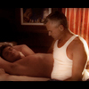 jdpfic_mod: Manip of Jack and Daniel in bed. Caption 'Daniel and Jack at home.' (jd@home, manip by magnavox_23)
