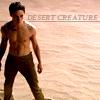 tookthegoldenpath: (Desert Creature)