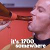 telesilla: (kirk tos drinking)