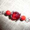 ellarien: red beads (beading)