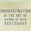 andersenmom: So My life (Procrastination)