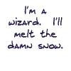 minkhollow: (i'll melt the damn snow)