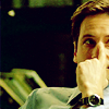 "lim: Mulder making an ""uh huh"" face (uh huh)"