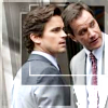 sholio: Peter and Neal from White Collar (WhiteCollar-Peter Neal look to side)