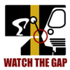 epershand: A stick figure watching the gap. (Watch the Gap)