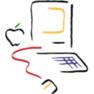 epershand: 1990s mac logo. (Old Mac logo)