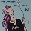 epershand: Delirium, following her fish. (Following my fish)