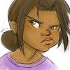 okayla: (drawings: myself: harumph)