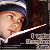 misslucyjane: Dominic Monaghan writing (i write therefore i am)