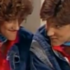 "gloriafan: Mickey and Gloria from ""Kids Incorporated."" (KI - Sly smile)"