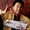 skygiants: Ando from Heroes beaming and making an OK sign with his hand (ando says ok)