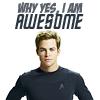 jessikast: (Star Trek - Awesome Kirk)