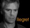 thothmes: Jack, B& W, looks down.  Legend:  Regret (Regret (Jack))