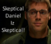 thothmes: Daniel rolling his eyes.  Legend: Skeptical Daniel is skeptical! (SkepticalDaniel)