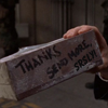 "thothmes: Kleenex box fresh from the Gate, saying ""Thanks, send more, srsly!"" (SendMoreSrsly)"