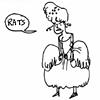 "wealhtheow: cartoon of Marie Antoinette upset, saying ""rats"" (marie-antoinette rats)"