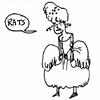 "wealhtheow: cartoon of Marie Antoinette upset, saying ""rats"" (marie-antoinette rats)"