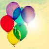 lifesnotasong: (Rainbow balloons)