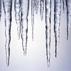 keaalu: Clear icicles dangling down on a chilly background (Icicles)