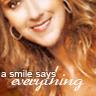 "melissatreglia: (celine - ""a smile says everything"")"