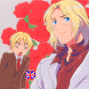 hyuroi: (France;UK;Mad)
