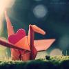 velvetcherri: (Paper Crane)