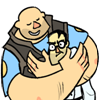 heavyweaponsanon: (doktor does not like hug? :()