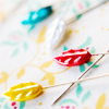 dear_prudence: sewing pins scattered over fabric (craft: pins)