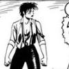 ardat_lili: 'Love and Rockets' character Rena Titañon, scraped up and triumphant post-brawl (get to work, queen rena, brawling, tough)