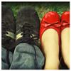 miraje: (feet)
