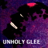 ceri: Comic book super-villain gloating (Unholy Glee)