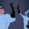 skywalker: (new groove (high five))