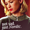 ndnickerson: not sad, just nordic (mad men-betty)