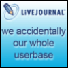 chaobell: LiveJournal: we accidentally our whole userbase (lj fail)