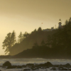 muccamukk: Lightstation in evening light. (Lights: Headland)