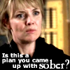 "muccamukk: Sam looks sceptical and annoyed. Text: ""Is this a plan you came up with sober?"" (SG-1: Dumb Idea)"