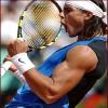 lilyleia78: Rafael Nadal celebrates a point (Tennis: Vamos Rafa)