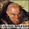 sushidragon: (kamahl SMASH)