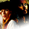 choosetolive: Image of Jack Sparrow and Elizabeth Swann (Sparrabeth)