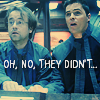 lilyleia78: Lorne and Zelenka looking surprised, captioned oh, no, they didn't (SGA: Lorne and Zelenka)