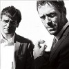 lilyleia78: Hugh Laurie and Robert Sean Leonard (House: B&W)