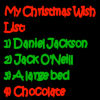 lilyleia78: Christmas List: 1 - Daniel Jackson, 2 - Jack O'Neill, 3 - a bed, 4 - chocolate (SG1: Christmas List)