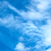 hokuton_punch: A picture of clouds against a blue sky. (clouds sky visualwit)
